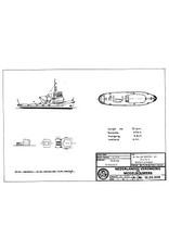 "NVM 10.20.008 HrMs sleepboot ""Wambrau"" A871 (1956)"
