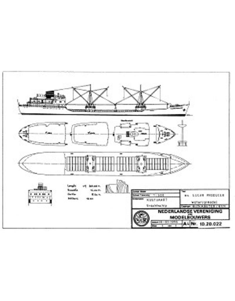 "NVM 10.20.022 vrachtschip ms ""Sugar Producer"" (1968) - Tate & Lyle Ltd."