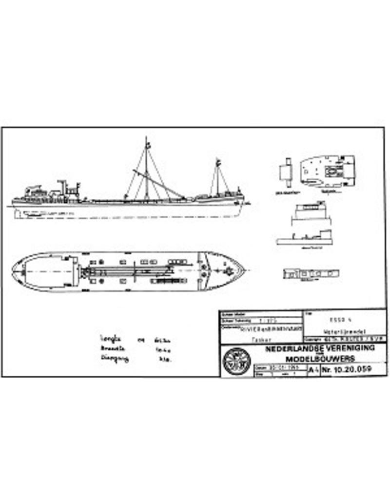"NVM 10.20.059 tanker ms"" Esso 4"""