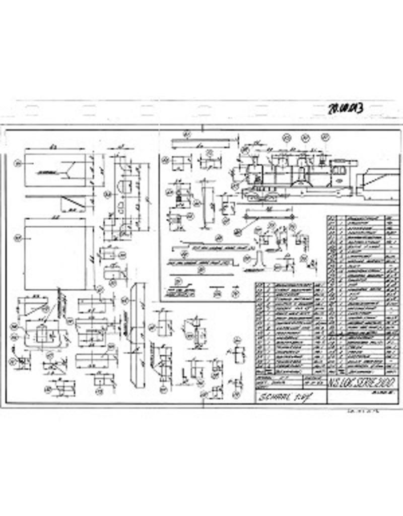 NVM 20.00.013 sneltreinlocomotief NS 2100 - ex HSM 501-535 voor spoor H0