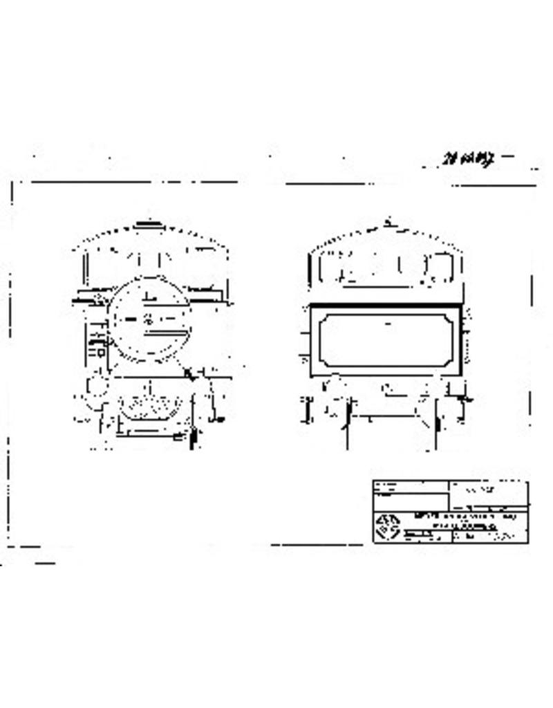 NVM 20.00.037 tenderlocomotief NS 7400 voor spoor II (64 mm)