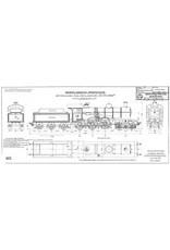 NVM 20.00.052 2-C Viercilinder sneltreinlocomotief NS 3721-3815 voor spoor 0