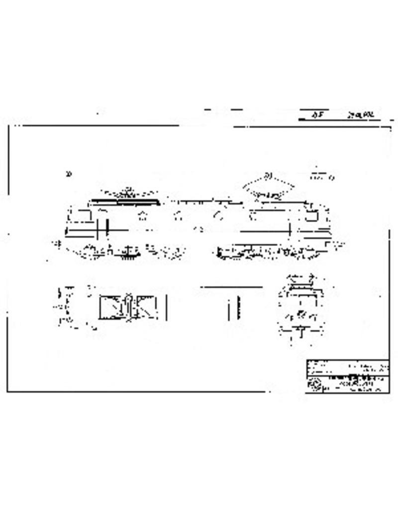 NVM 20.01.002 Electrische locomotief NS 1300 voor spoor 0
