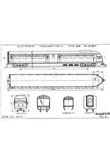 """NVM 20.03.002 4-wagenstel serie 601-638 (""""Middennet"""") voor spoor H0"""
