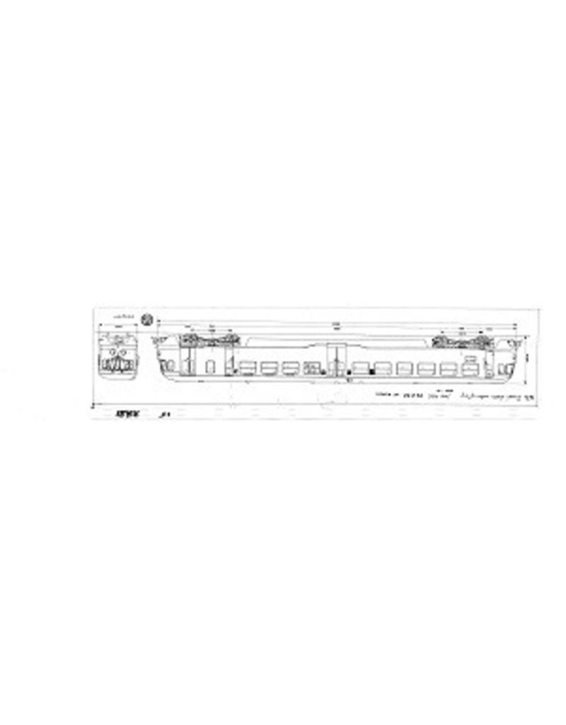 """NVM 20.04.001 DE-treinstel 21-60 - (""""Blauwe Engel"""") voor spoor 0"""