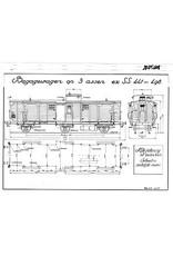 NVM 20.05.005 3-assige bagagewagen D 3939 (ex SS 441-498)