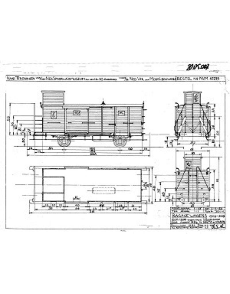 NVM 20.05.007 bagagewagen 1502-1528 HIJSM voor spoor 0
