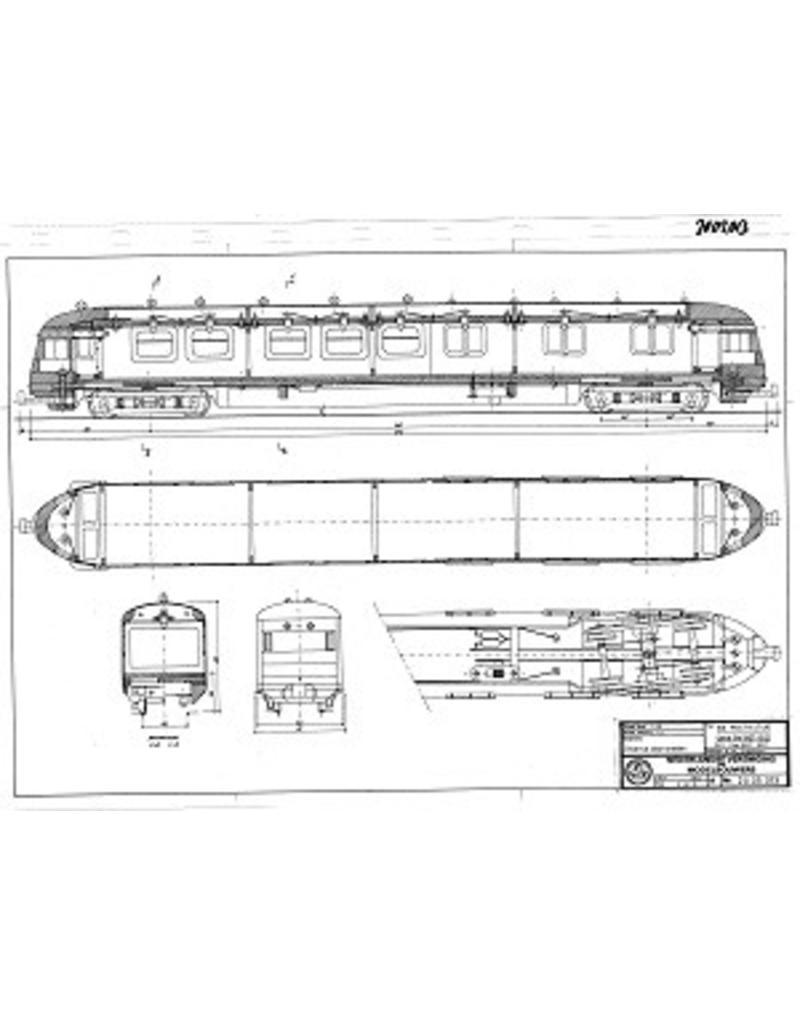 NVM 20.05.013 NS postrijtuig. PE 1907-1921, PEC 8507-8521 voor spoor 0