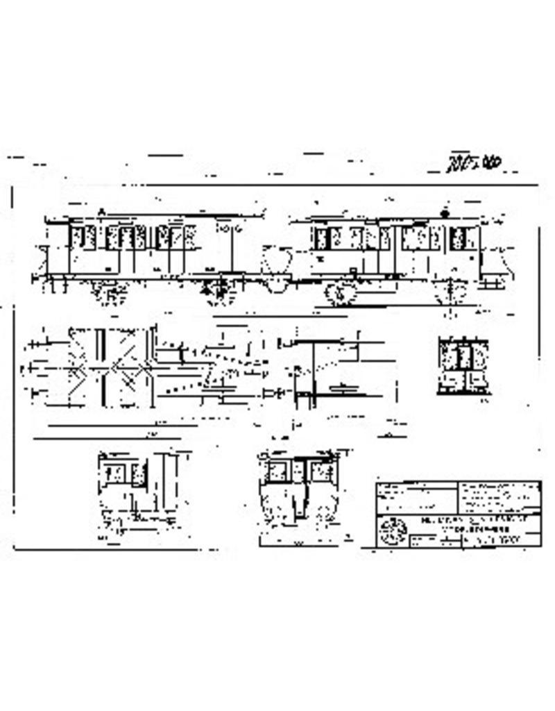 NVM 20.05.020 HIJSM lokaalspoorrijtuigen BD 13, B 70 voor spoor 0