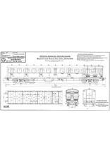 NVM 20.05.028 3e klasse rijtuig type C12c Serie 6400 voor spoor 0