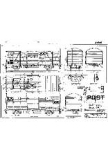 NVM 20.06.028 20 tons postwagen NS Gs 120 2 800-872 en 873-893 ex Gs ex S-CHO voor spoor I