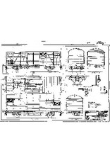 NVM 20.06.029 20 tons gesloten goederenwagon NS S-CHO 6061-7560 UIC type Gs voor spoor I
