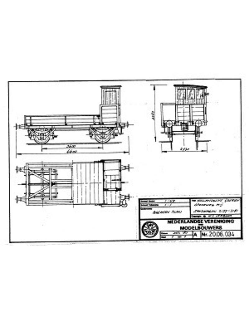 NVM 20.06.034 HIJSM zandwagen 2177-2181 voor spoor 0