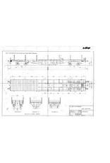 NVM 20.06.040 40 tons platte wagen 89151-89175 voor spoor 0
