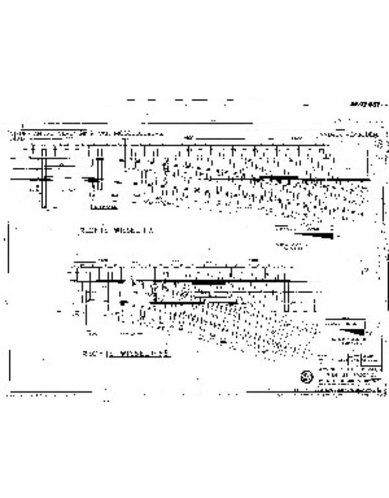 NVM 20.07.001 gewone rechtse wissel 1:7, 1:3,5 voor spoor 0