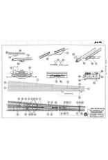 NVM 20.07.004 hoofdlijnwissel 5 graden voor spoor H0