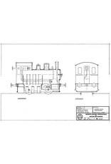 NVM 20.20.008 Hanomag normaalspoor tramlocomotief LTM 30; in oorspronkelijke uitvoering