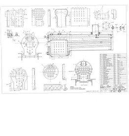 """NVM 20.20.014 Locomotiefketel voor T3 """"Badenia"""" van koper, voor spoor 5"""""""