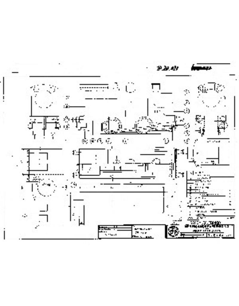 NVM 20.20.021 stoomlocomotief Bingo; voor spoor 0 (32 mm)
