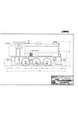 """NVM 20.20.029 stoomlocomotief NS 8800 - (""""Saddletank""""); voor spoor 1 (45 mm)"""