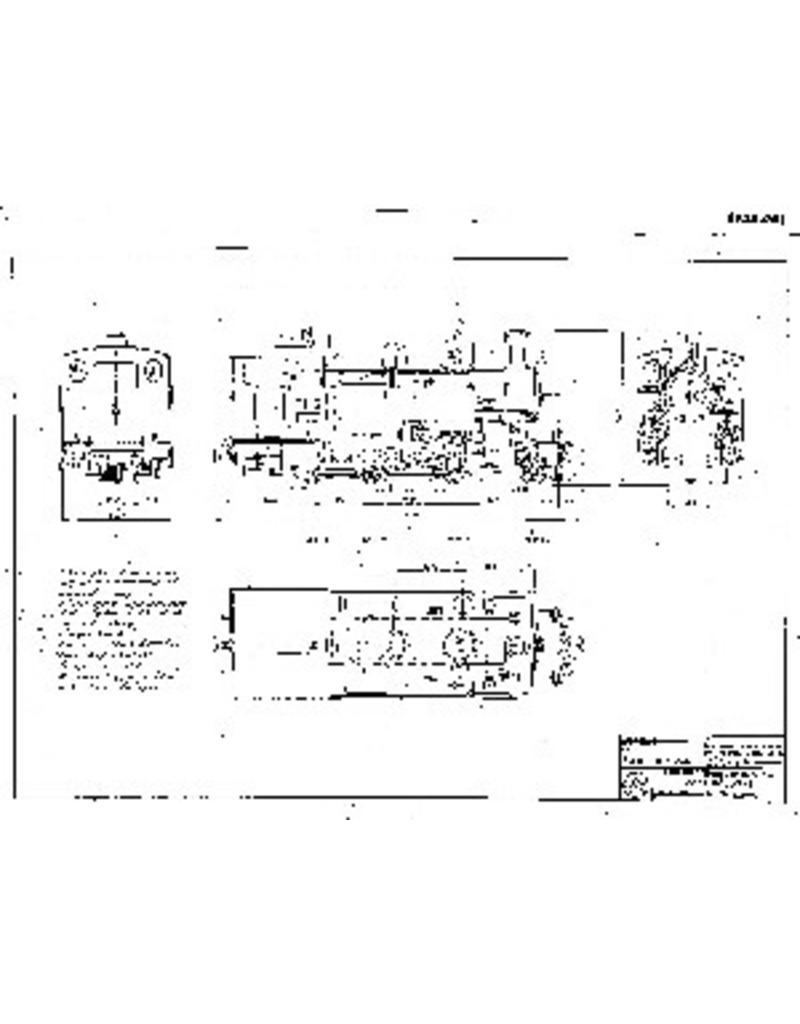 NVM 20.30.001 1-C compound tenderlocomotief Furka-Oberalpbahn HG3/4 1-10 voor spoor 0