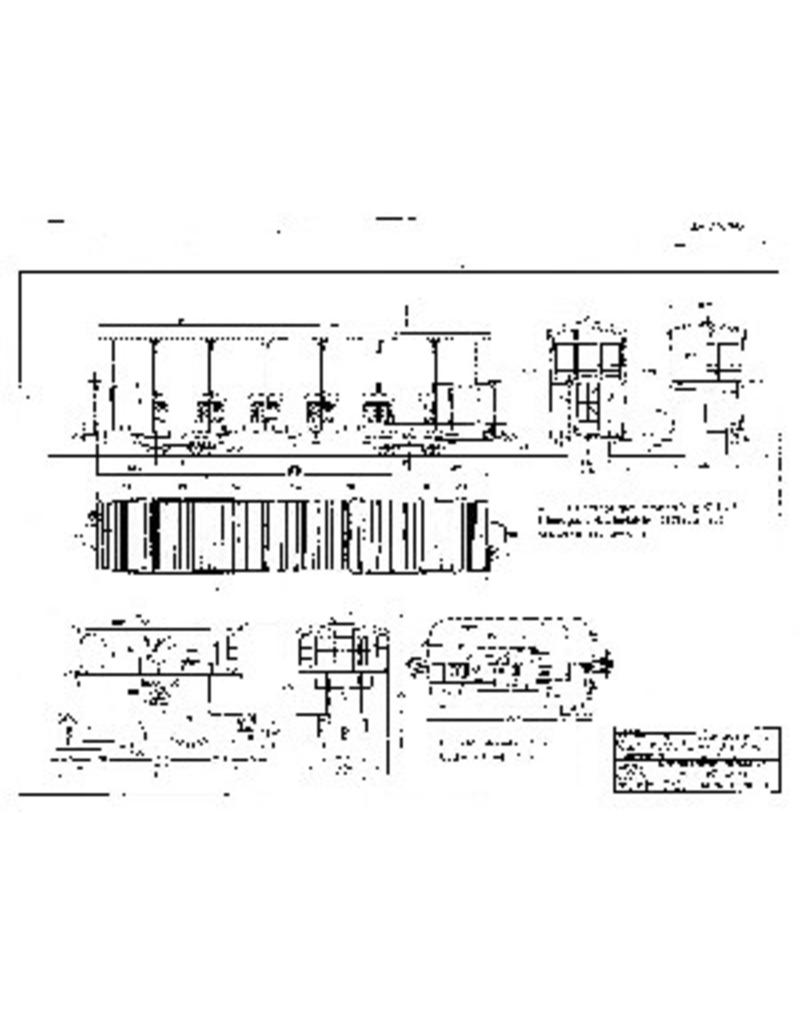 NVM 20.70.009 GOSM stoomlocomotief 1-5 (1885)(backer & Rueb); open rijtuig AB 11,13 (1903/06)