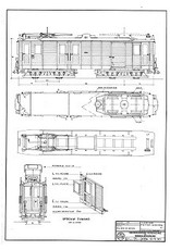 """NVM 20.73.001 motorwagen NBM 61(ex """"Benzo"""" OSM) voor spoor 0"""