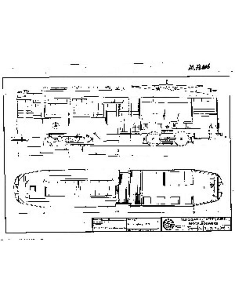 NVM 20.73.006 motorrijtuig RET 453 voor spoor 0