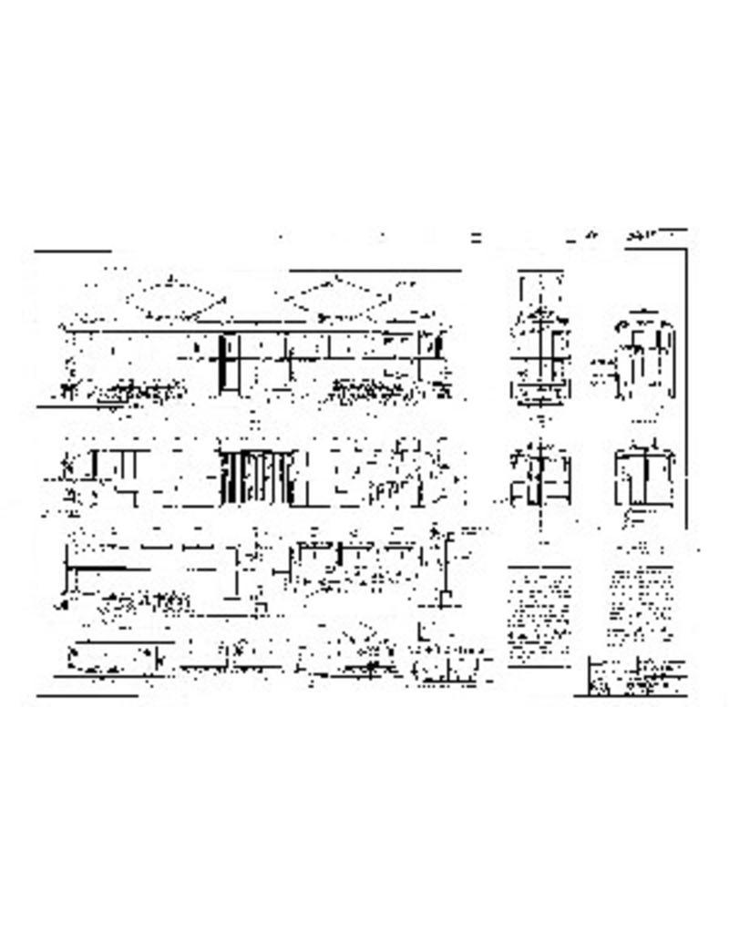 "NVM 20.73.011 motorrijtuig NZHVM A401-409, A451-459 - (""Boedapester"");met volgrijtuig B401-409, B451-466"