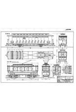 NVM 20.73.024 motorrijtuig NZHVM A41-57 ex-ENET, aanh.rijtuig B60-61