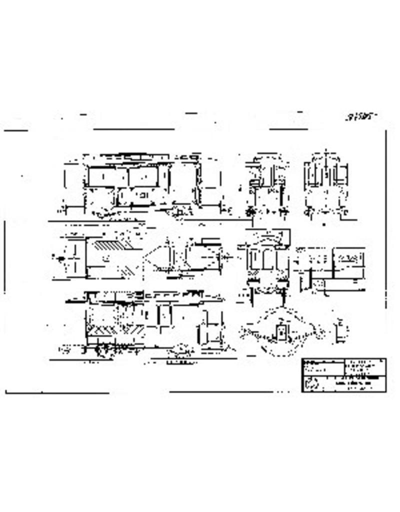 NVM 20.75.015 aanhangrijtuig NZHVM B20-21, B33-36 ex HSM (ook GoTM) voor spoor I