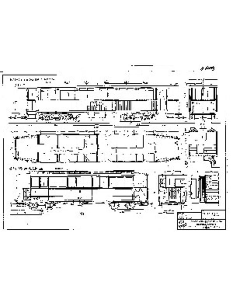 NVM 20.75.019 aanhangrijtuig NZHVM B11-15, B44-45 exG0TM resp. WSM, voor spoor I