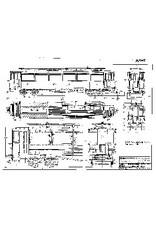 NVM 20.75.025 NTM personenrijtuig BC 73-78 (Werkspoor, 1915); voor spoor I