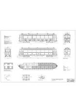 NVM 20.75.034 Staatsspoor tramrijtuig BC1-10, oorspronkelijke uitvoering; voor spoor 0