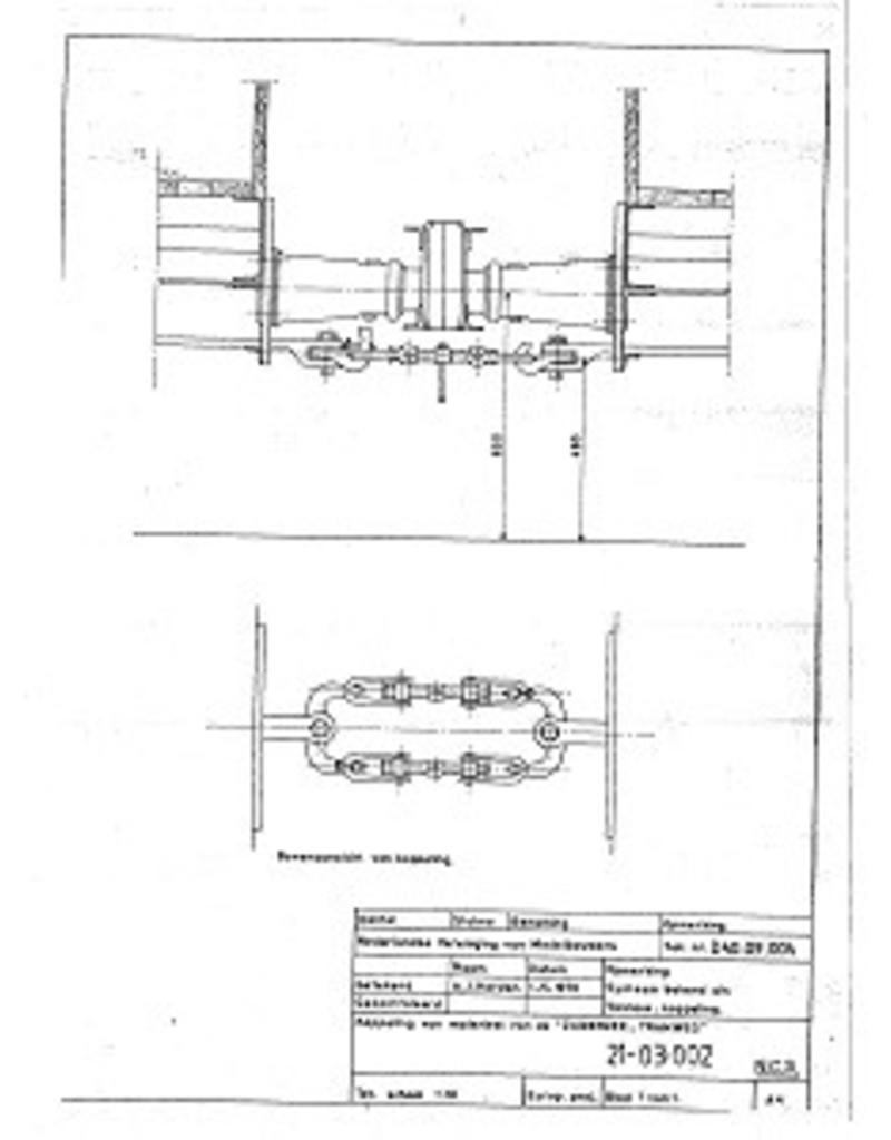 NVM 21.03.002 trekwerk voor trammaterieel Zuiderzeetramweg; Vicinaux-koppeling