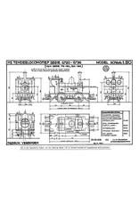 NVM 29.00.606 stoomlocomotief NS 6720 - 6737