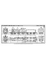 NVM 29.00.613 stoomlocomotief NS 1901 - 1940