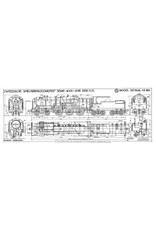 NVM 29.00.620 stoomlocomotief NS 4001 - 4015