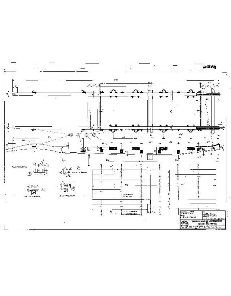 NVM 40.38.029 transportwagen met hangbodem