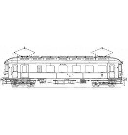 NVM 29.03.222 El. motorrijtuig 2e/3e klasse BC 9910, 9911 (voorheen ZHESM 5, 6) voor Spoor 0