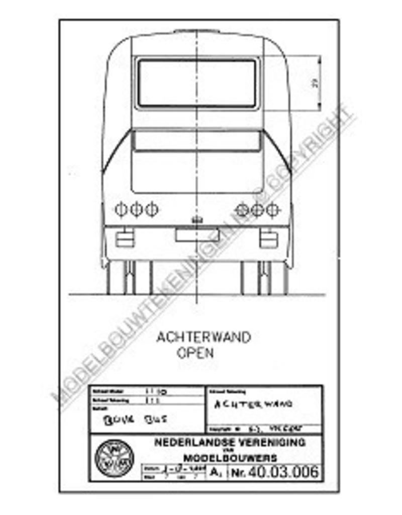 "NVM 40.03.006 BOVA ""Futura"" autobus"