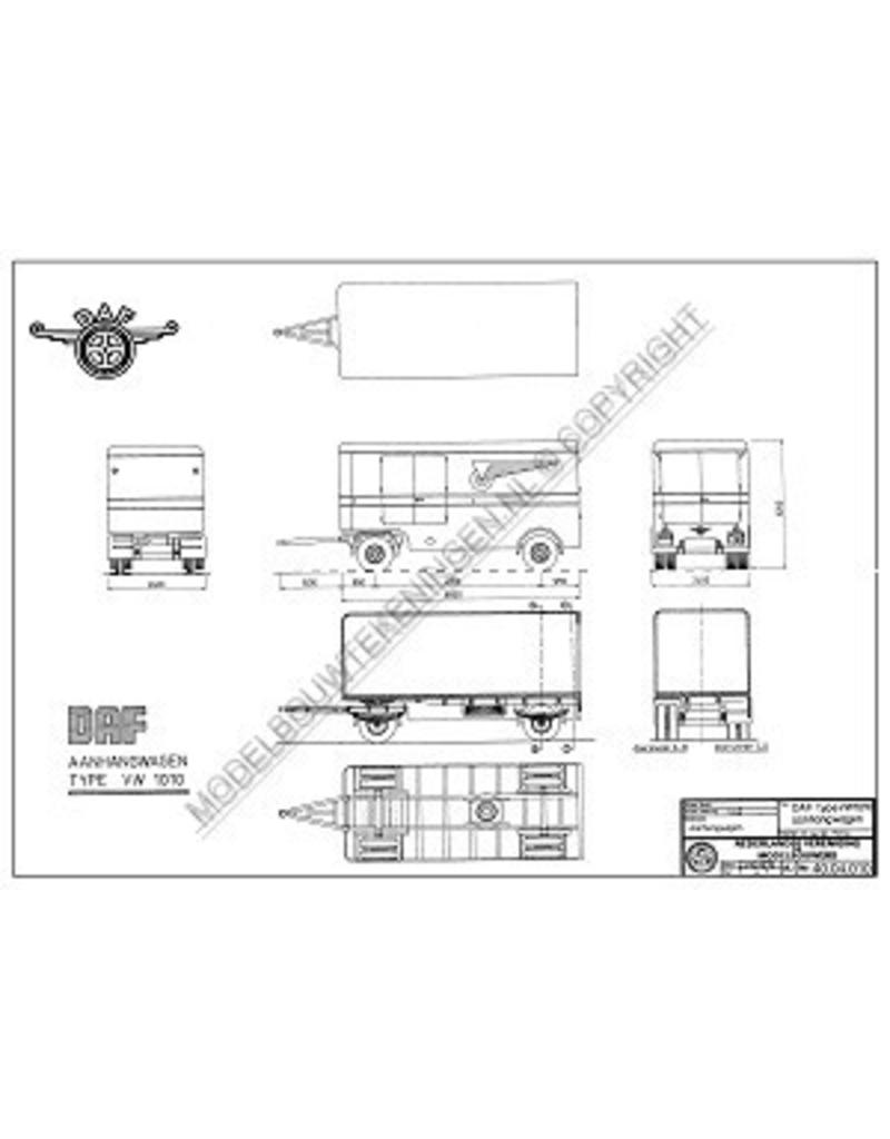 NVM 40.04.010 DAF aanhangwagen VW101