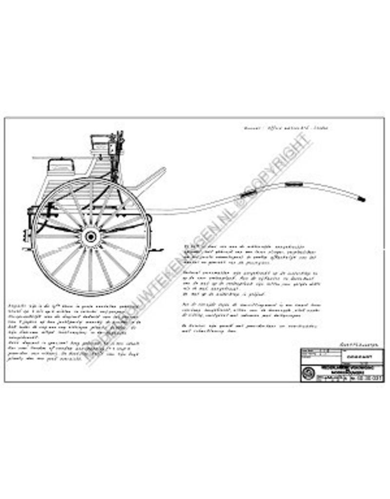 NVM 40.30.031 dogcart of tandemcart