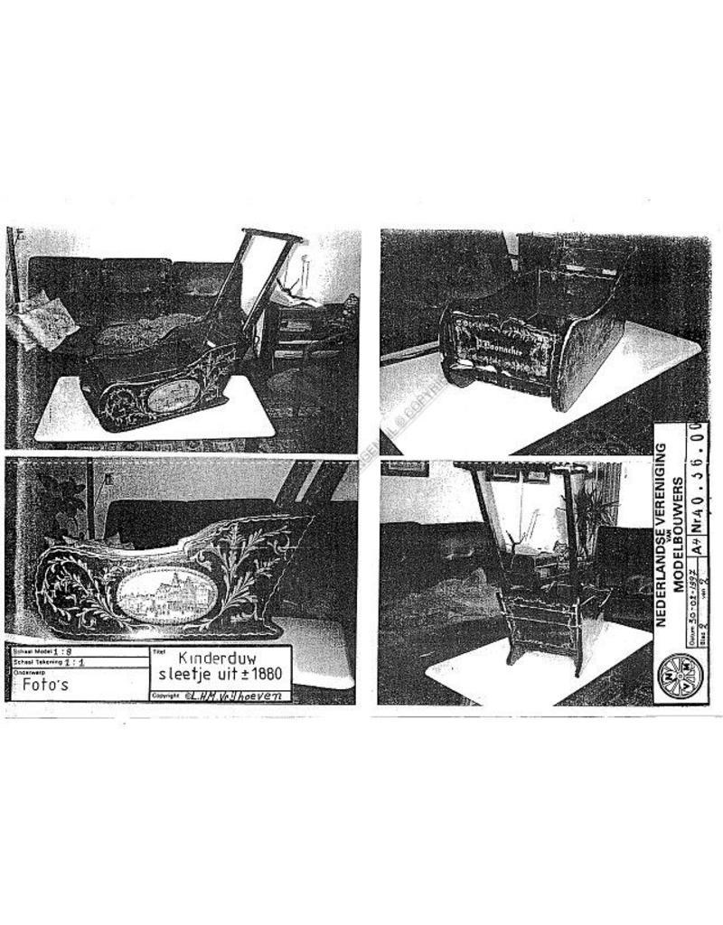 NVM 40.36.008 kinderduw-sleetje (ca 1880)