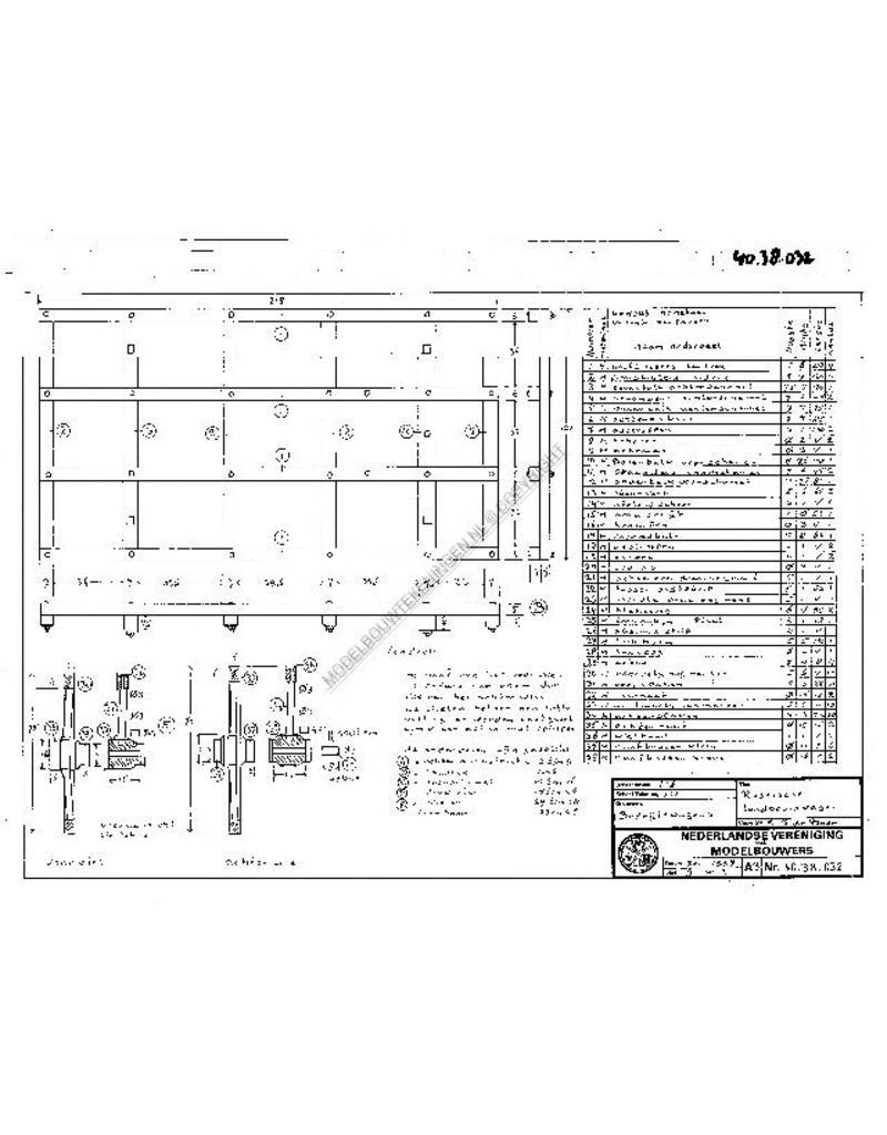 NVM 40.38.032 Russische landbouwwagen