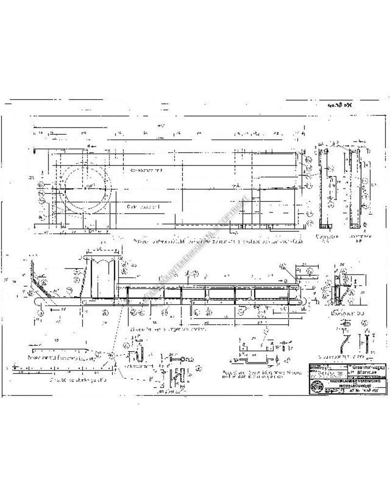 NVM 40.38.035 groentenwagen uit Blaricum