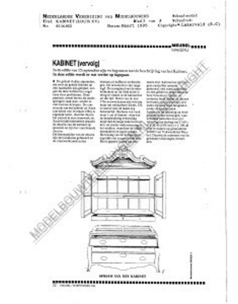 NVM 45.16.002 kabinet (laat Louis XV)