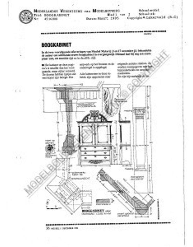 NVM 45.16.008 boogkabinet