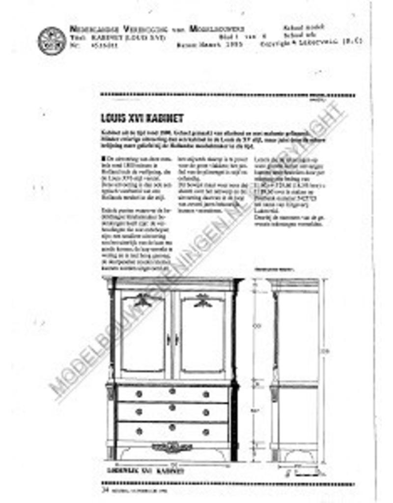 NVM 45.16.011 kabinet (Louis XV)