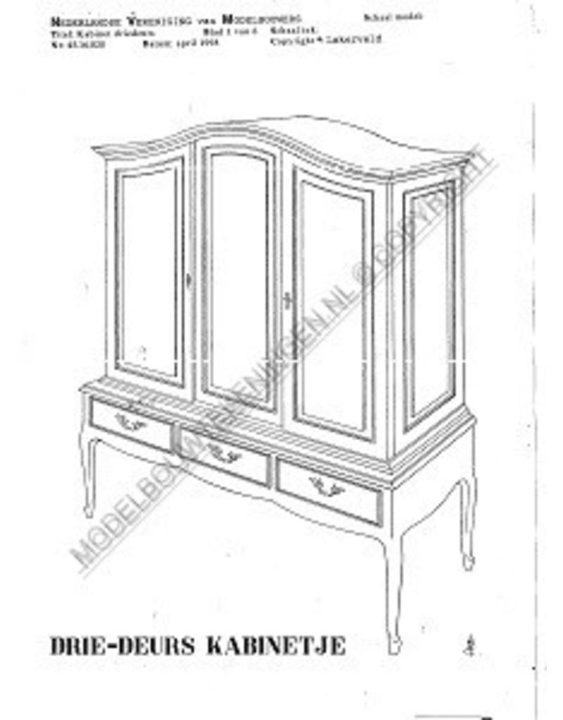 NVM 45.16.020 driedeurs kabinetje